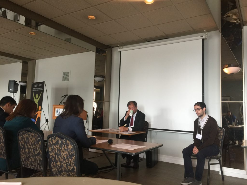 Students presented a mock hearing based on a case CLA successfully litigated