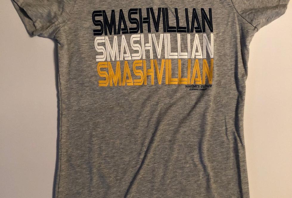 Smashvillian Tee, Ladies crew neck by Bella Canvas