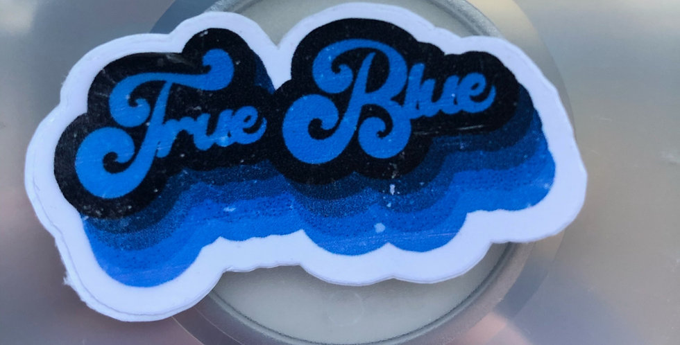 """True Blue"" Middle Tennessee Sticker"