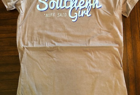 Southern Girl, Ladies, by Bella Canvas Two Colors available