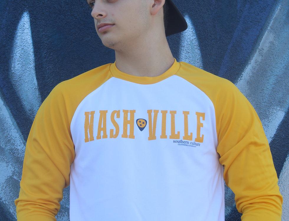Nashville Guitar Pick 3/4 Sleeve unisex preds
