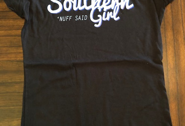 Southern Girl, Ladies, by Next Level. Three Colors available.