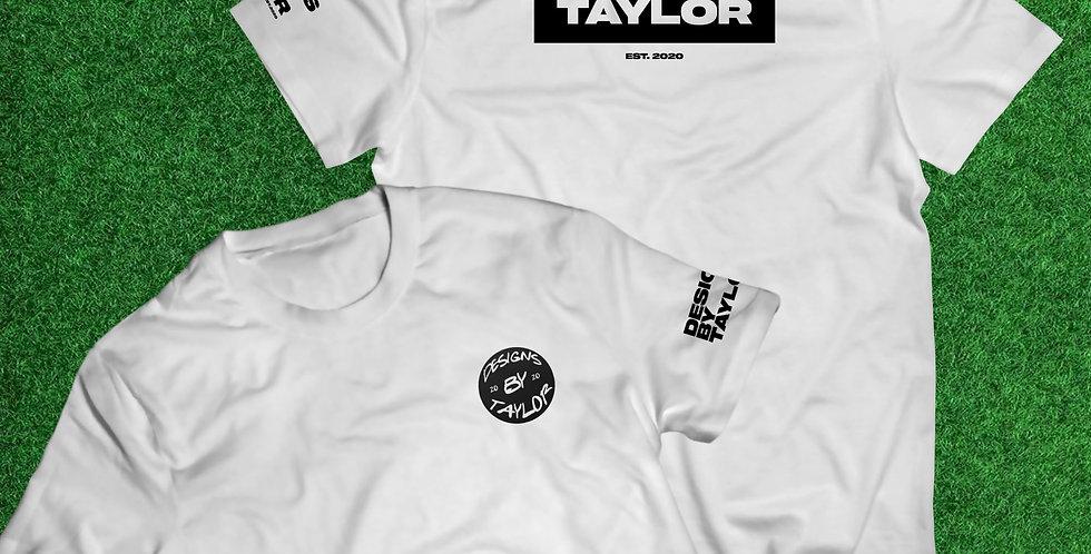 """TAYLOR"" NAMEPLATE T-SHIRT"