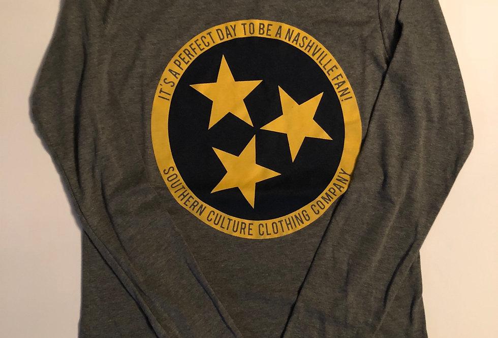 Nashville Hockey/Soccer TriStar, Ladies long sleeve