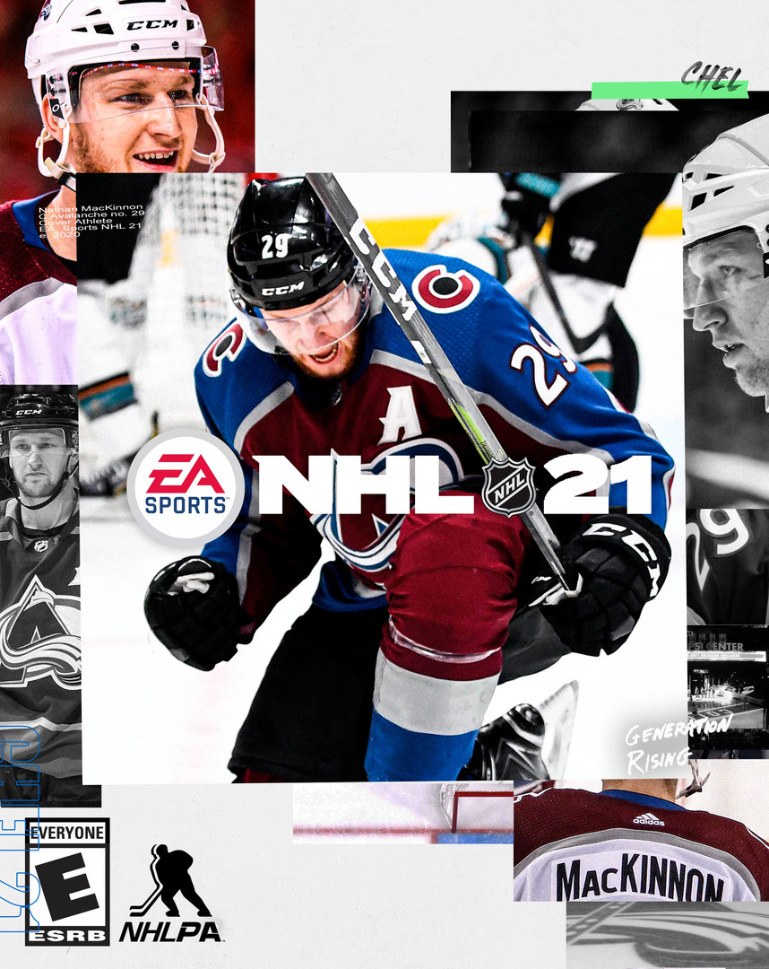 NHL 21 Nathan MacKinnon Standard Edition