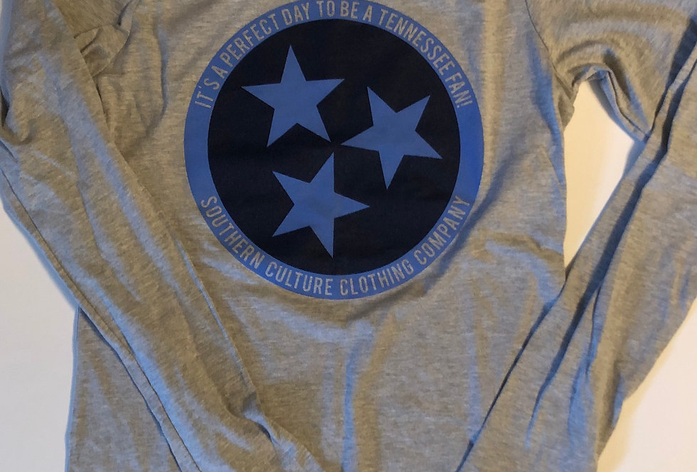 Tennessee Football Tristar Tee Ladies by Bella Canvas