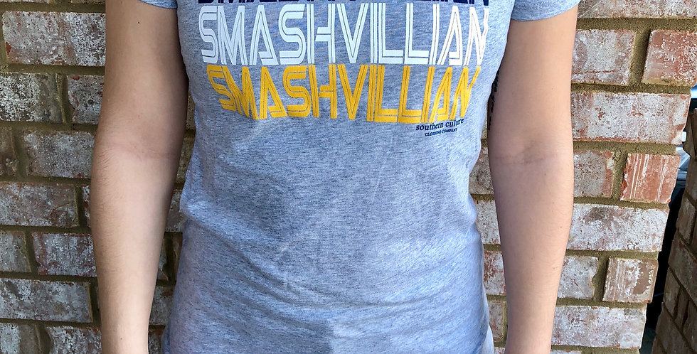 Smashvillian Tee, Ladies crew neck by Next Level