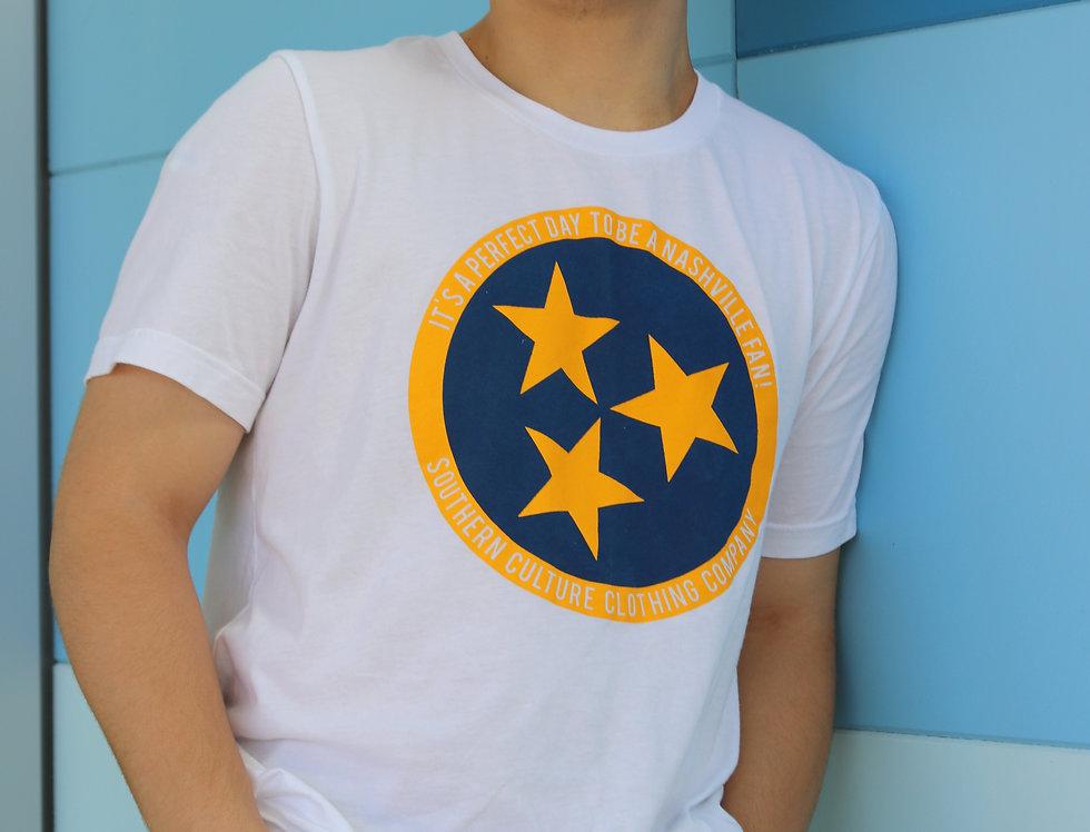 Nashville Hockey/Soccer Tri-Star Tee unisex
