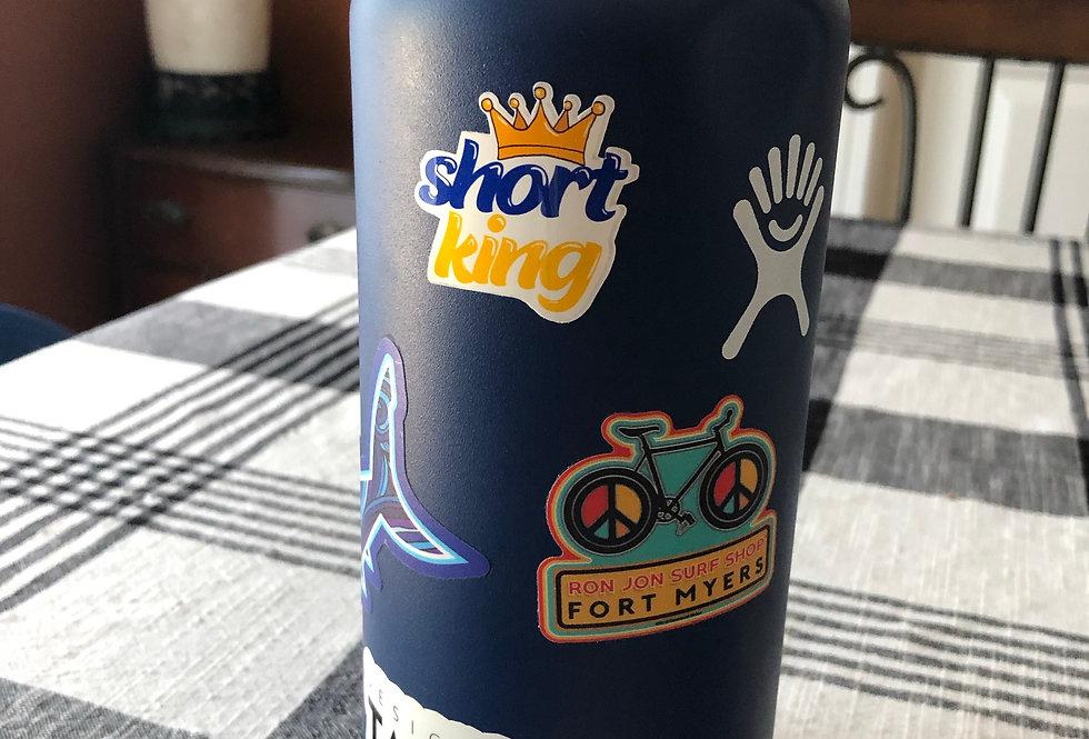 Short King Sticker
