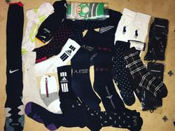 I like popping tags! Socks