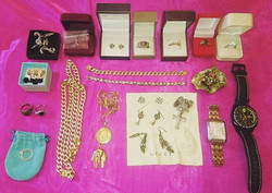 Some of my exotic jewellery!
