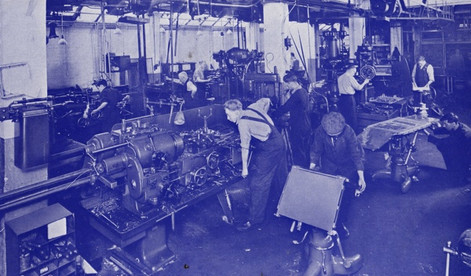 Machine Shop & Operation Table Erection