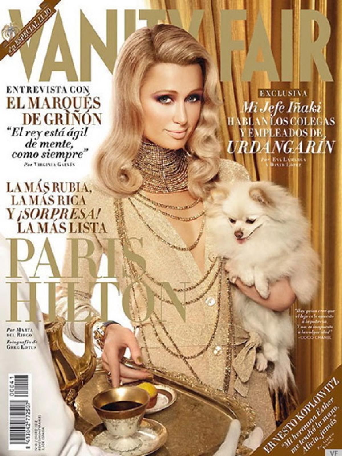 Paris Hilton Vanity Fair