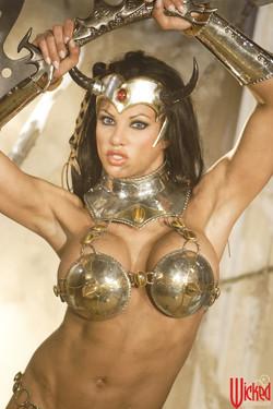 Tanned-Brunette-Goddess-with-Fake-Boobs