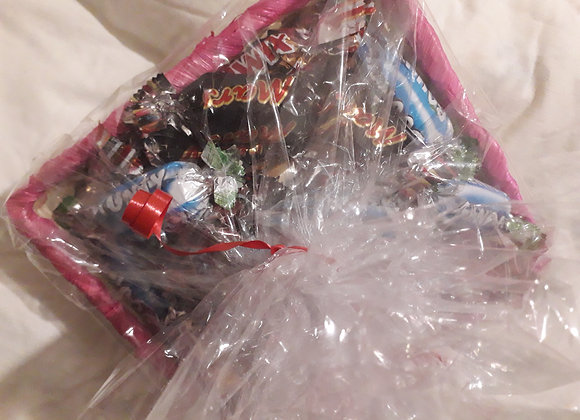 Corbeilles de minibarres chocolates