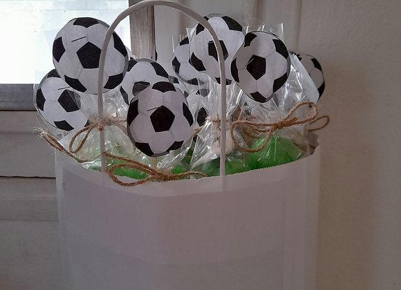 Brochettes ballons de foot