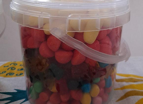 Seau de bonbons