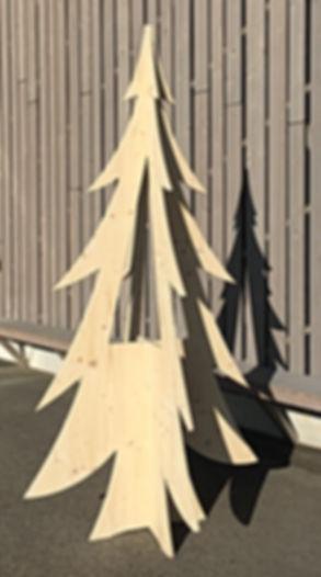 Sapins de Noël, décoration de Noël, noël