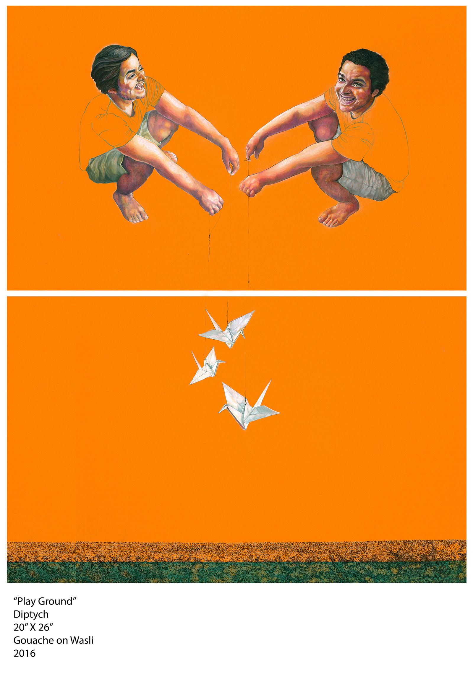 Play Ground/Flightless Bird