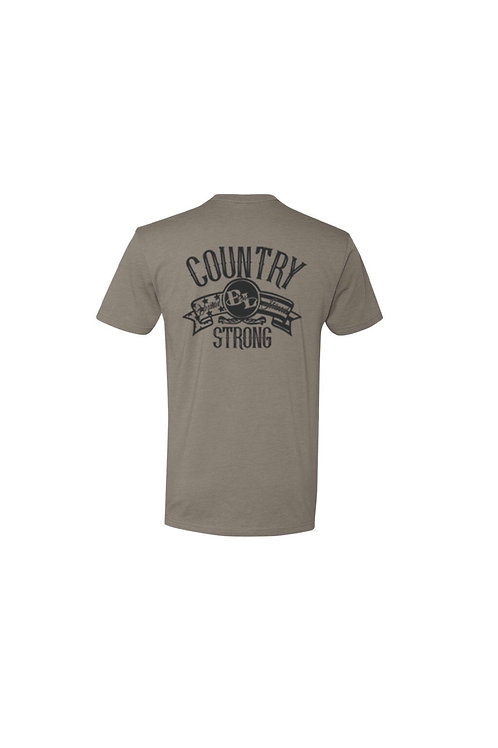 Warm Grey Country Strong Tee