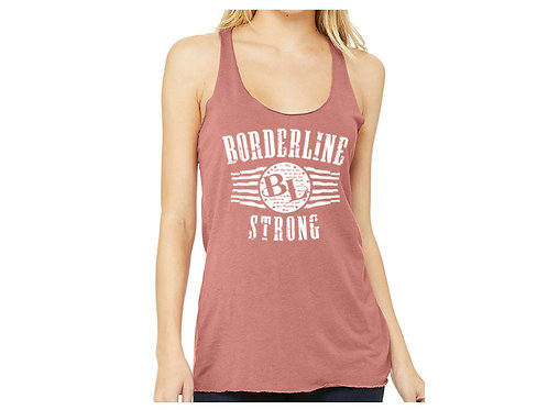 Pink BL Strong Racerback