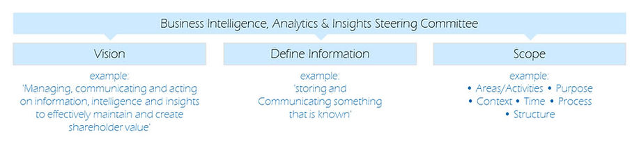 Analytics BI,Reorting Stering Committee