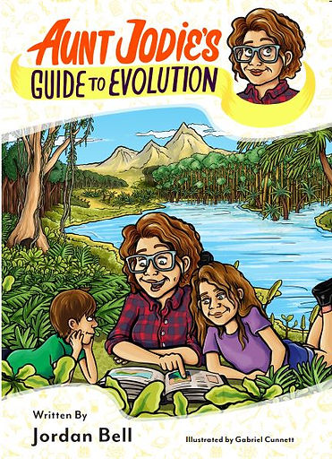Cover of Ant Jodie's Guide to Evolution