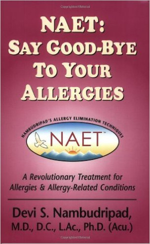 Nambudripad's Allergy Elimination Technique New Patient Info