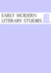 Early Modern Literary Studies