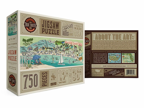Florida's Scenic 30A Puzzle by True South