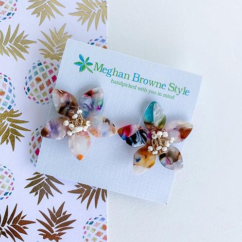 Meghan Brown Style Tulip Multi Earrings