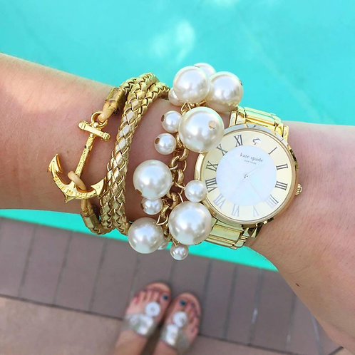 Molly Pearl Bauble Bracelet by Prep Obsessed