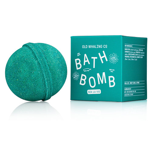 Sea La Vie Bath Bomb by Old Whaling Co.