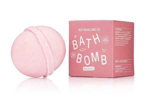 Magnolia Bath Bomb by Old Whaling Co.