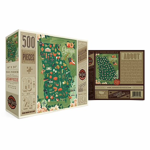Georgia Puzzle by True South