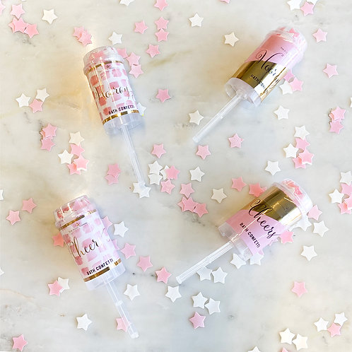 Celebration Bath Confetti Poppers (Set of 4)