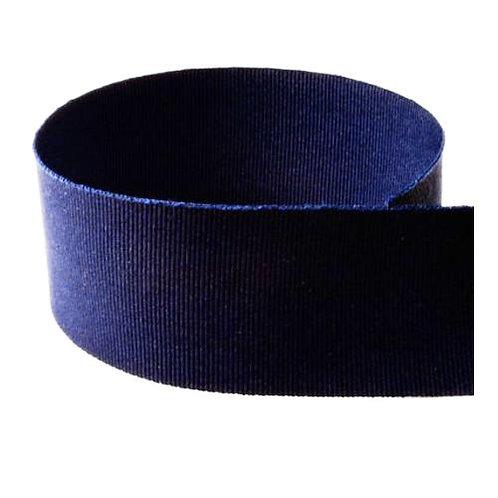 Preppy Grosgrain Ribbon in Navy