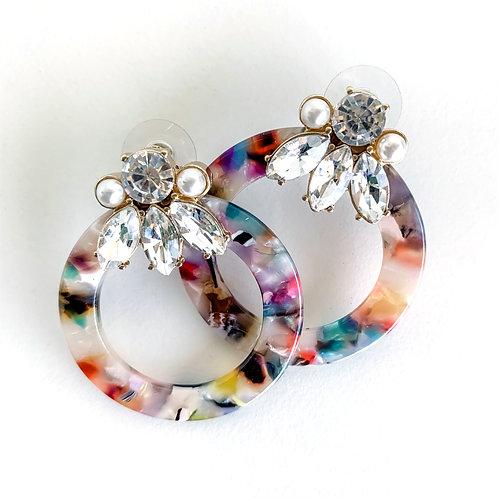 Timmy Multi Earrings by Meghan Browne Style