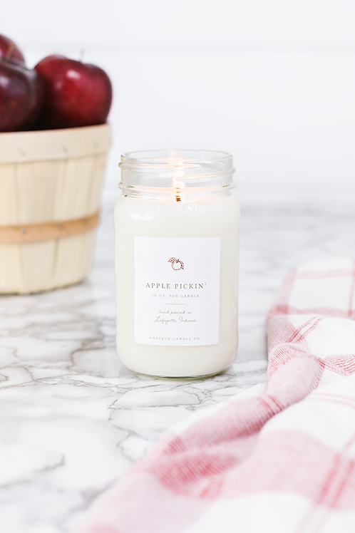 Apple Pickn' 16 oz. Candle by Antique Candle Co.