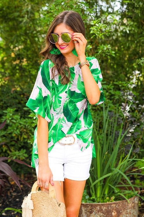 Tate Tropical Print Tunic