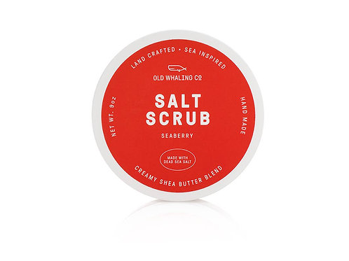 Seaberry Salt Scrub by Old Whaling Co.