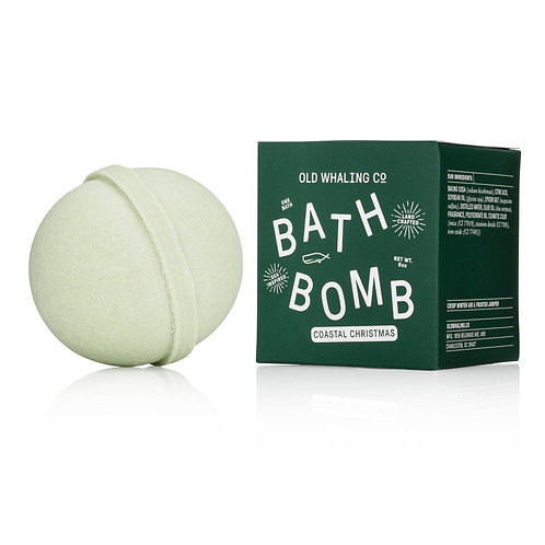 Coastal Christmas Bath Bomb by Old Whaling Co.