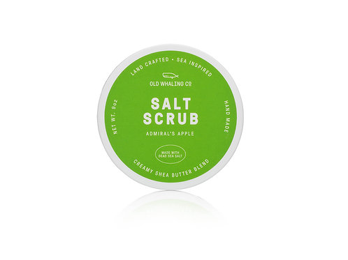 Admiral's Apple Salt Scrub