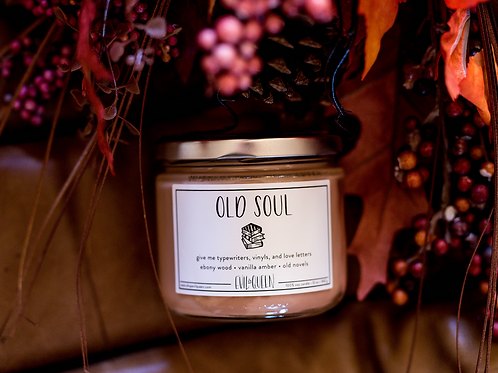 Old Soul 12 oz. Candle by Evil Queen