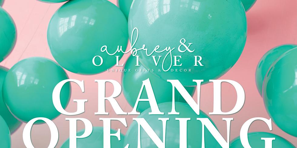 Aubrey & Oliver Grand Opening Celebration