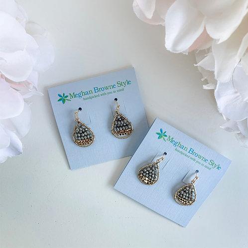 Meghan Browne Style Oaklyn Gray Earrings