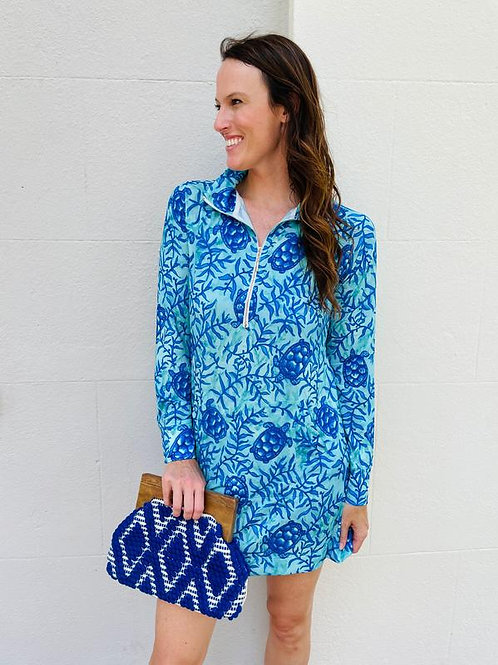Northbrook Clutch in Royal Blue