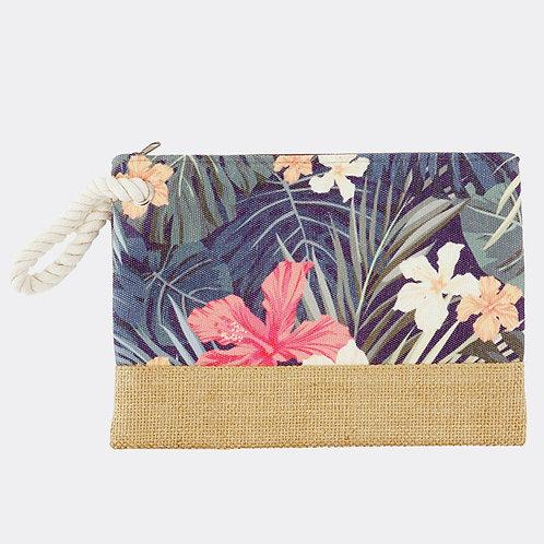 Tropical Flower Clutch