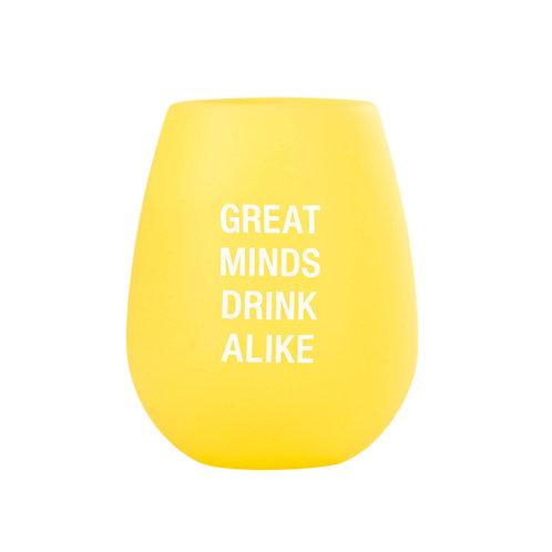 Great Minds Silicone Wine Cup