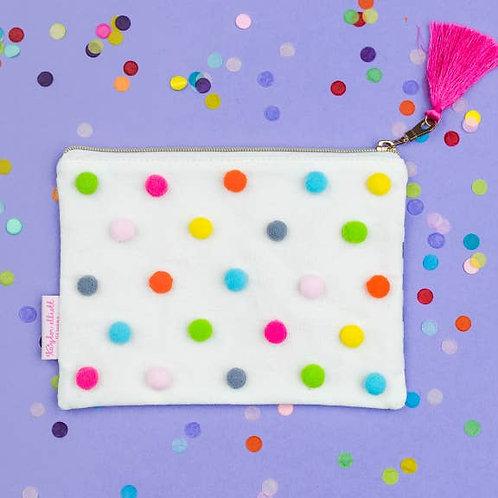 Pom Pom Pouch by Taylor Elliott Designs